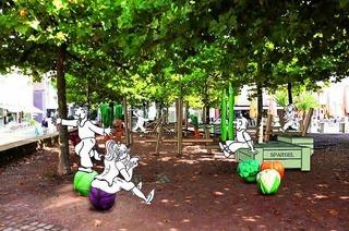 Spielplatz Kraut und Rüben