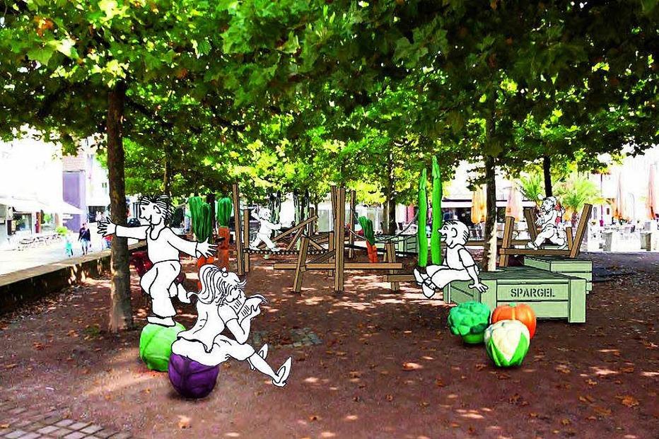 Spielplatz Kraut und Rüben - Lahr