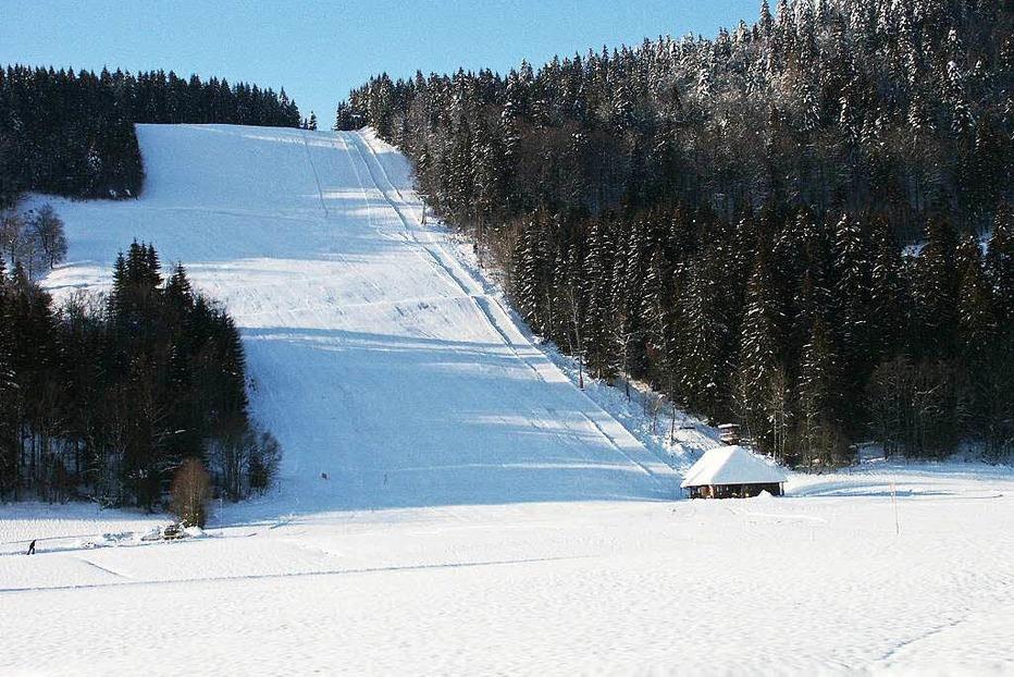 Skilift Mösle - St. Blasien