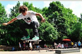 Skatehof beim Haus der Jugend