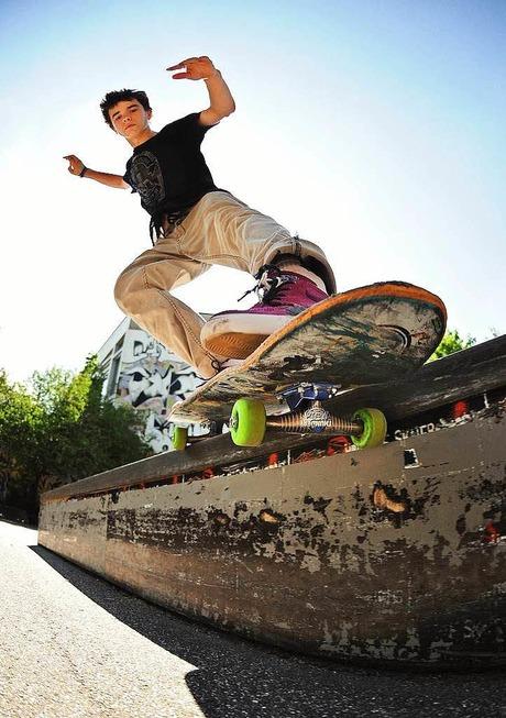 Skatehof beim Haus der Jugend - Freiburg