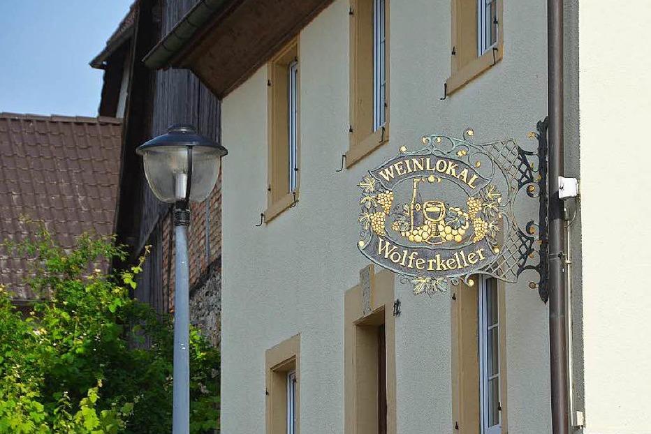 Weinlokal Wolferkeller Blansingen - Efringen-Kirchen