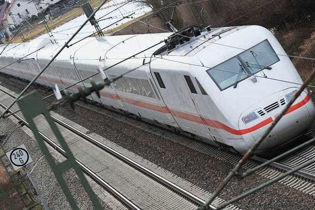 Rheintalbahn: 250 bis 300 Millionen Euro für mehr Lärmschutz?