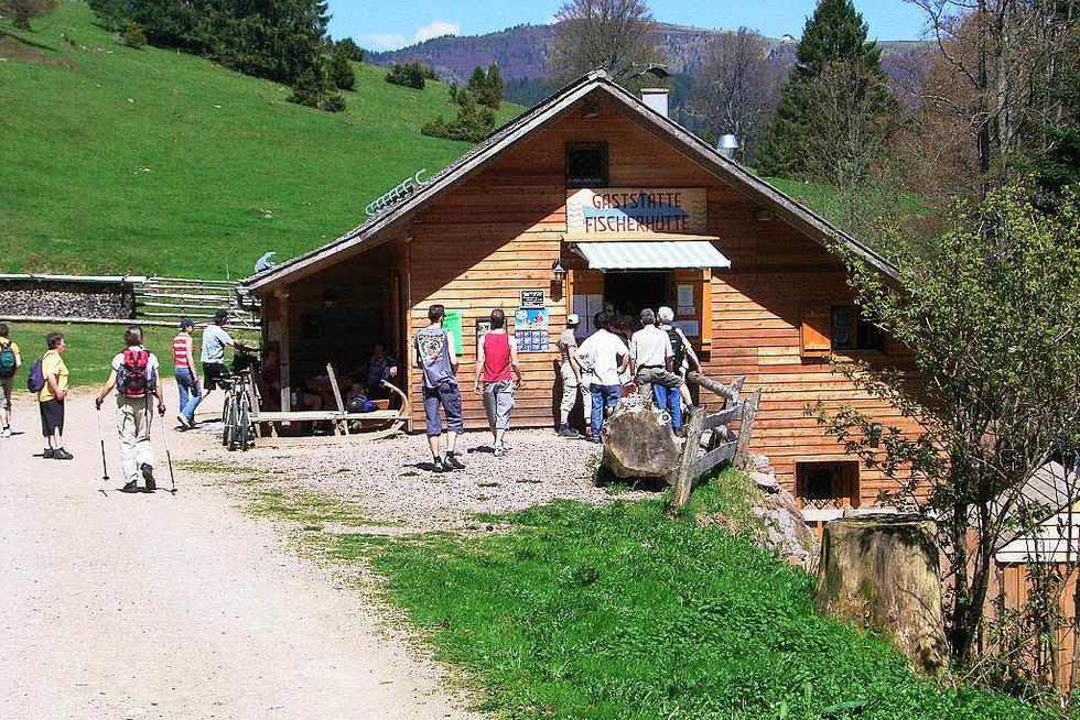Fischerhütte Nonnenmattweiher - Neuenweg