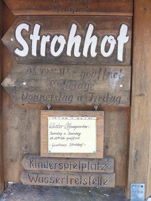 Gasthaus Strohhof (Strohbach) - Gengenbach