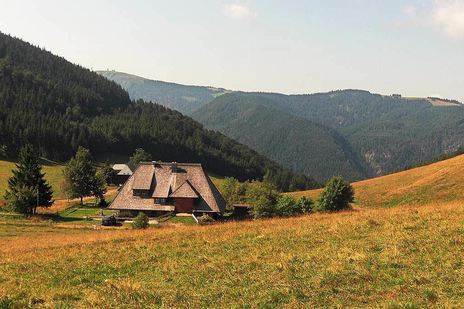 Hinterwaldkopfh�tte Zastler - Oberried