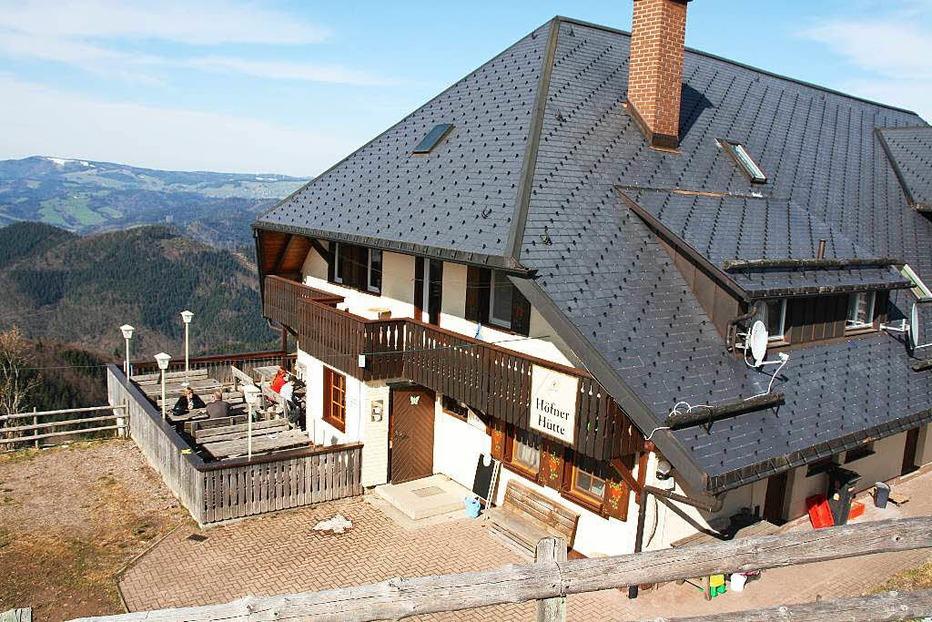 Höfener Hütte (Falkensteig) - Buchenbach