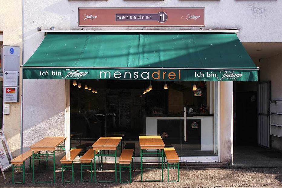 Mensadrei Imbiss-Restaurant - Freiburg