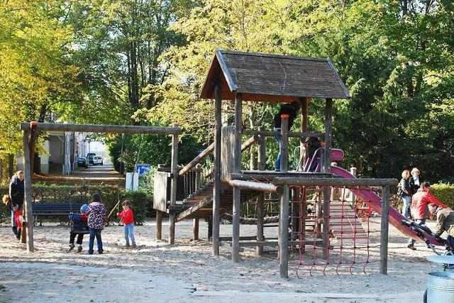 Spielplatz im Rosenfelspark