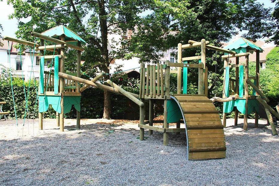 Kinderspielplatz Stadtpark - Schopfheim