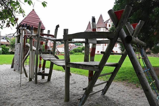 Spielplatz am Schloss