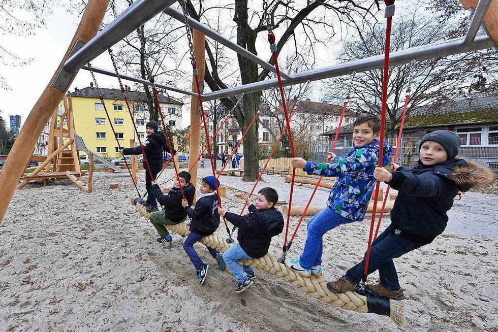 Spielplatz Mathildenstraße (Stühlinger) - Freiburg