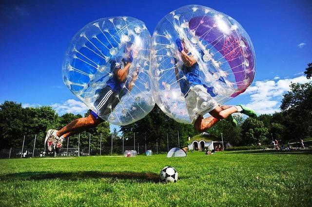 Bubble Soccer (Seepark)