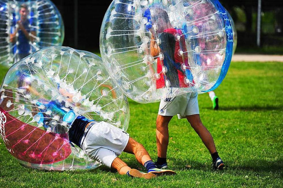 Bubble Soccer (Seepark) - Freiburg
