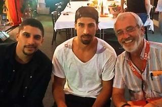 Wie Sami Khedira auf die ZMF-Bühne zu Andreas Bourani kam