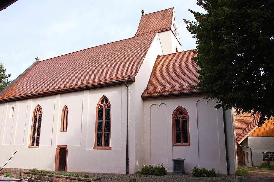 Margarethenkirche (Höllstein) - Steinen