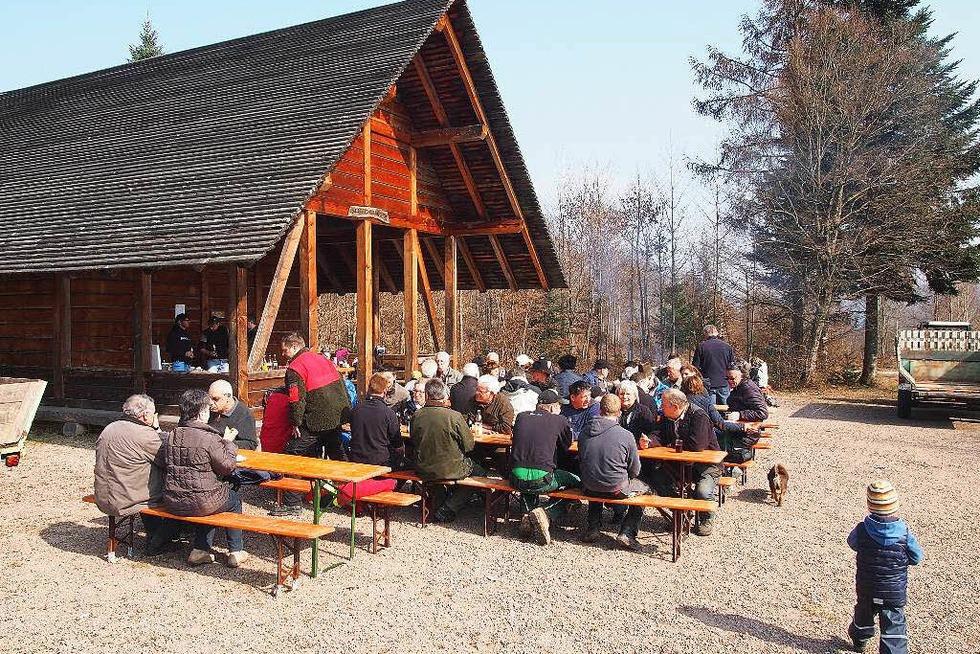 Saatschulhütte Hägelberg - Steinen