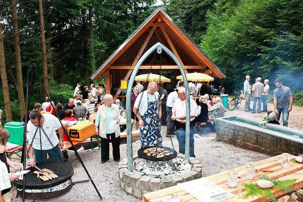 Kehrrankhütte am Steinenberg (Hofen) - Steinen