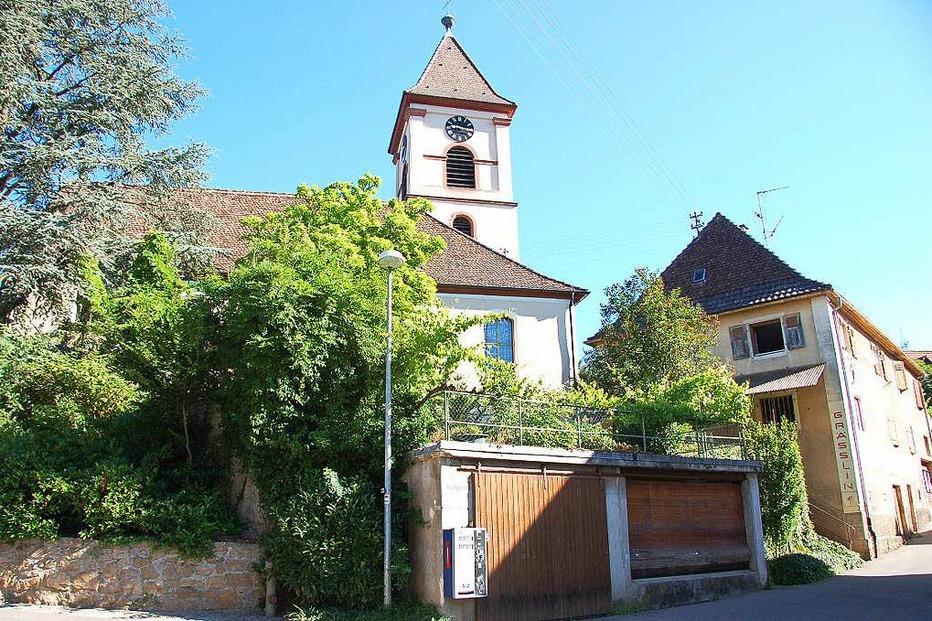 Ev. Kirche Wollbach - Kandern