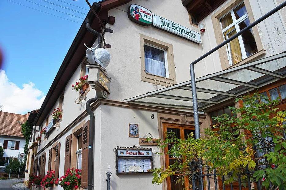 Gasthaus zur Schnecke - Kandern