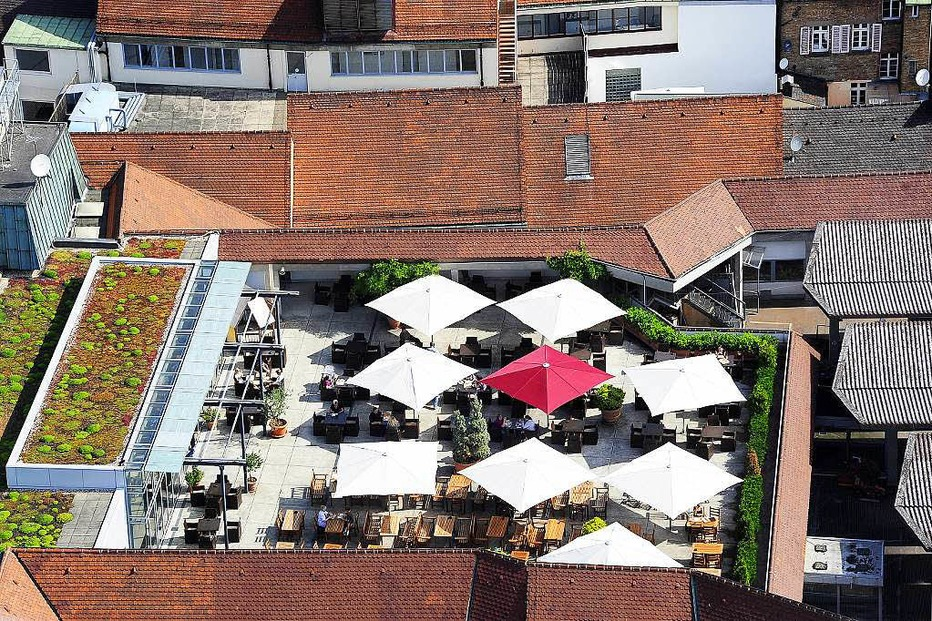 Dachterassenrestaurant Le Buffet - Freiburg