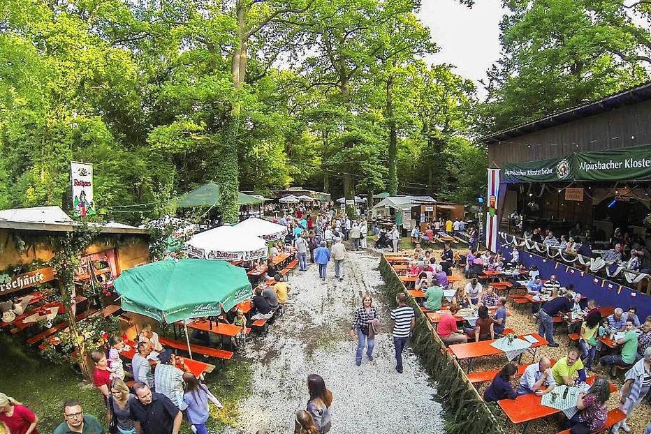 Waldfestplatz Hochdorf - Freiburg