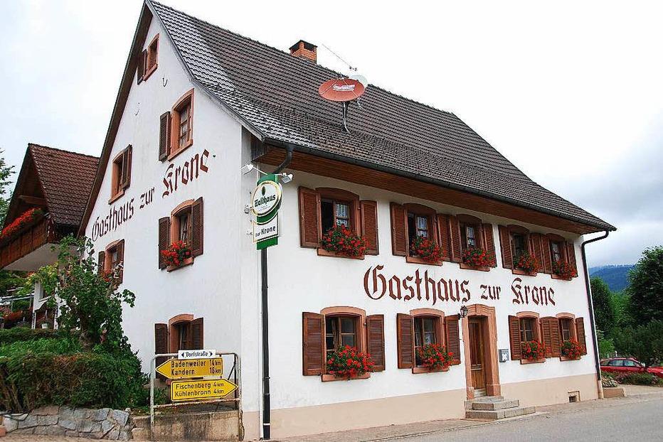 Gasthaus Zur Krone (Wies) - Kleines Wiesental