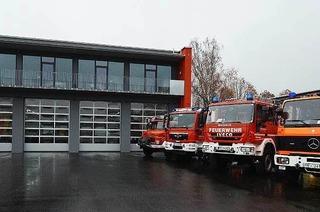 Feuerwehrger�tehaus Herdern/Z�hringen