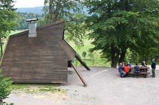 Grillh�tte am Bergkopf (Gersbach)