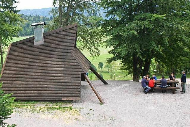 Grillhütte am Bergkopf (Gersbach)