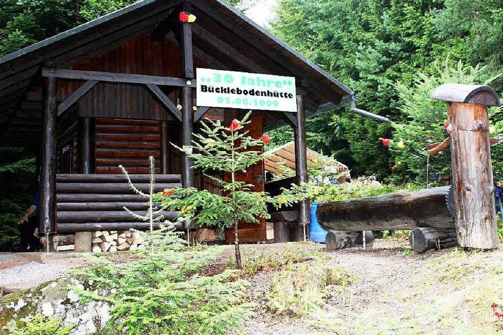 Bücklebodenhütte Sallneck - Kleines Wiesental
