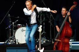 Fotos: Peter Kraus beim Summersound in Schopfheim