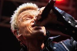 Fotos: Billy Idol in Emmendingen