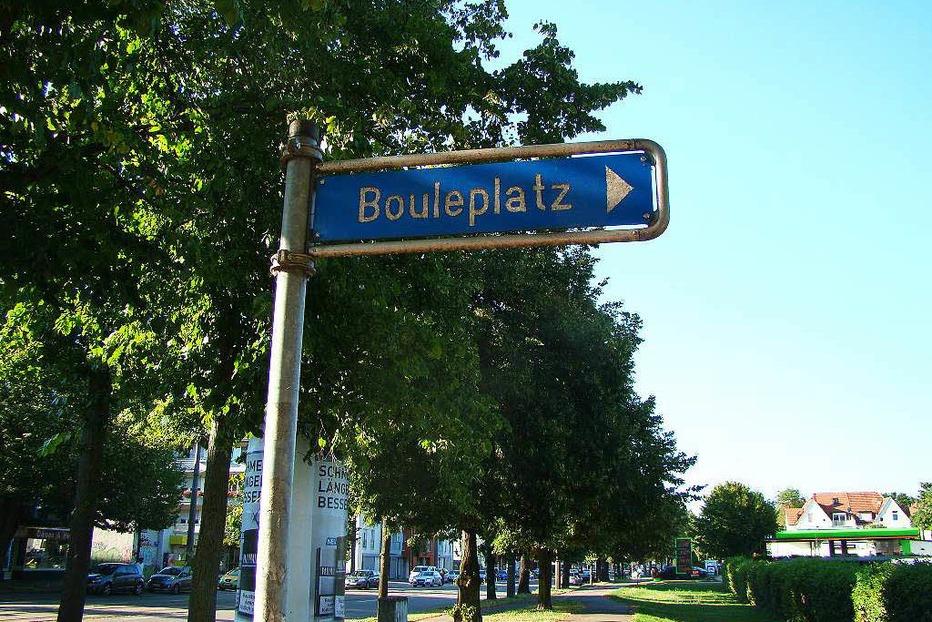 Bouleplatz - Freiburg
