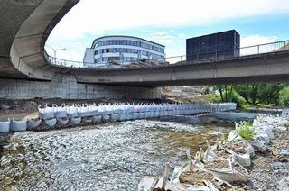Abriss der Kronenbrücke verzögert sich um ein halbes Jahr