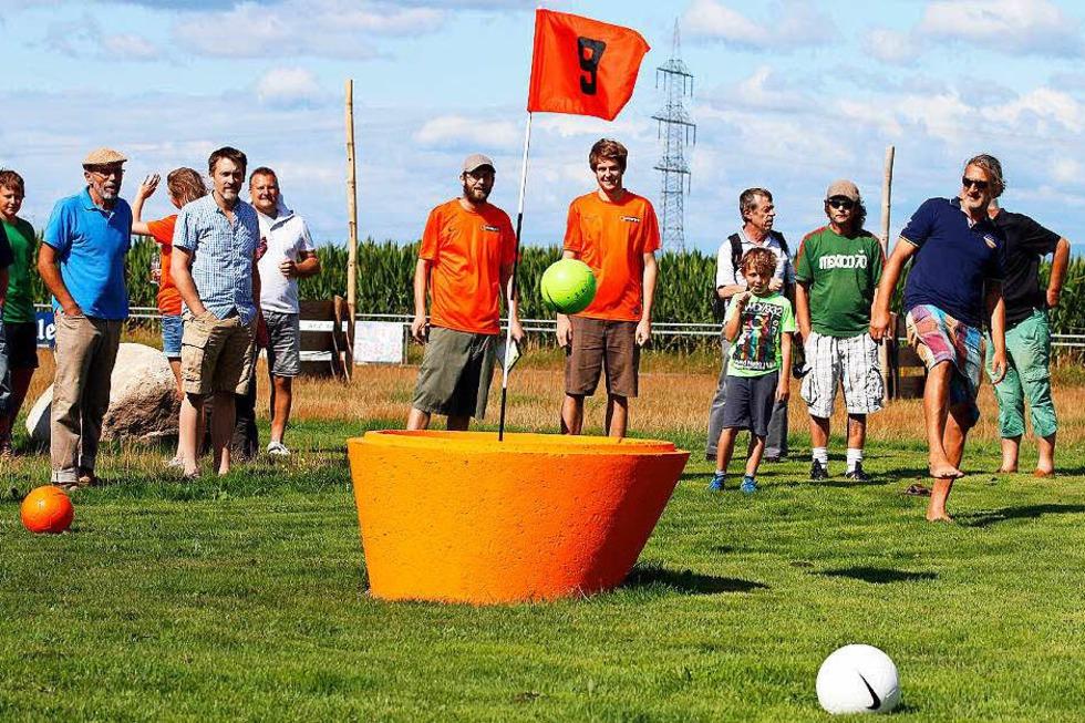 Soccerpark Fussballgolf Dundenheim Neuried Badische