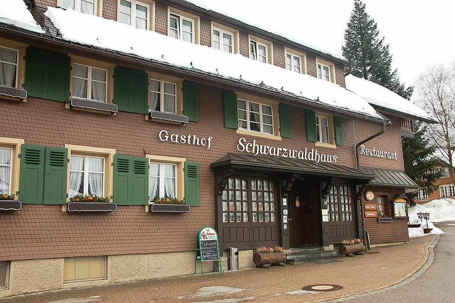 Gasthaus Schwarzwaldhaus - Bernau