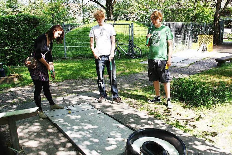 Minigolfplatz - Kirchzarten