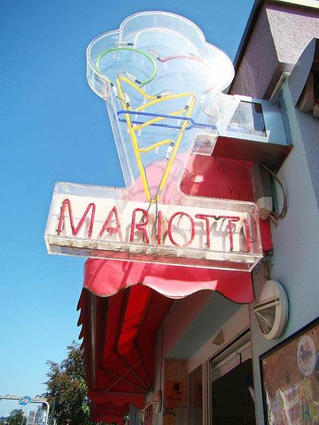 Eisdiele Mariotti - Freiburg