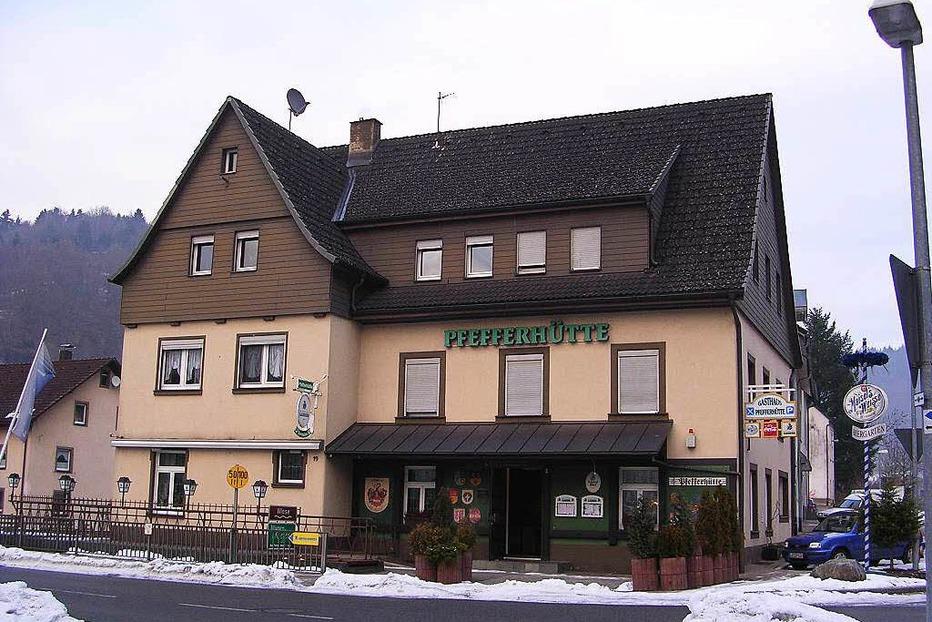 Gasthaus Pfefferhütte - Zell im Wiesental