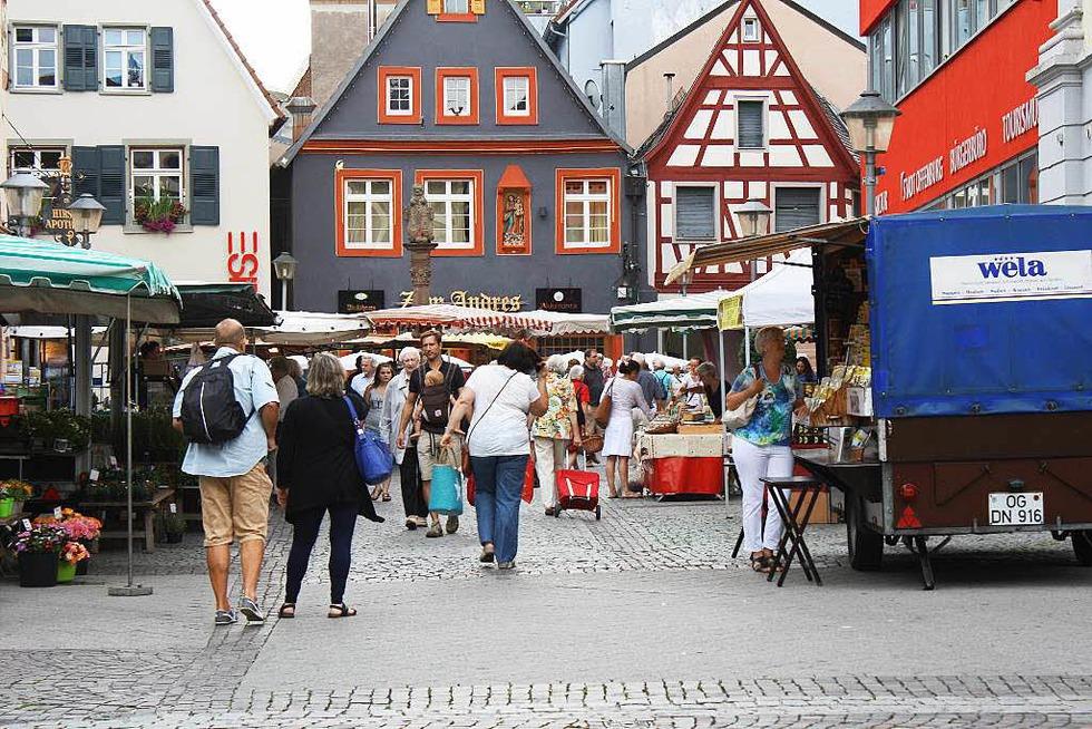 Wochenmarkt Offenburg - Offenburg