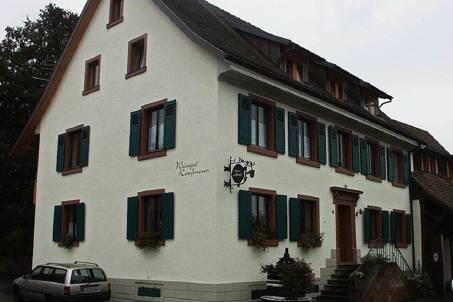 Weingut Kaufmann - Efringen-Kirchen