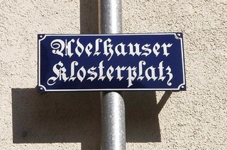 Adelhauser Klosterplatz