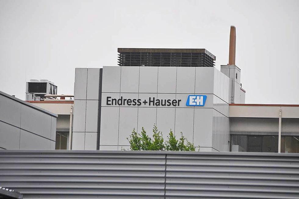 Firma Endress+Hauser - Maulburg