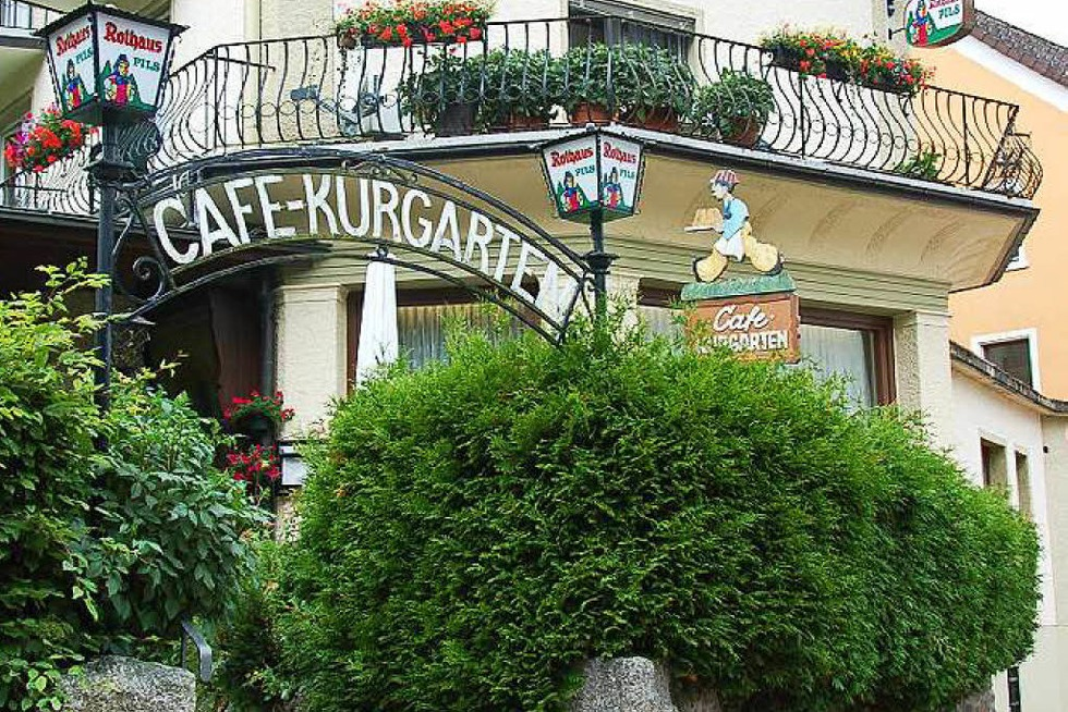 Café Kurgarten - St. Blasien