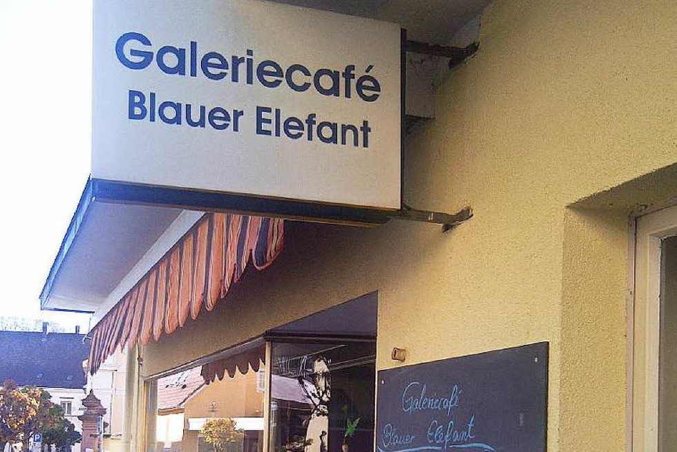 Galeriecafé Blauer Elefant (geschlossen) - Müllheim