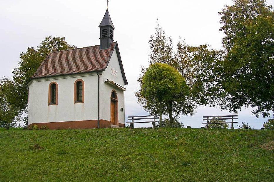 Wallfahrtskapelle Maria Hügel - Bad Bellingen