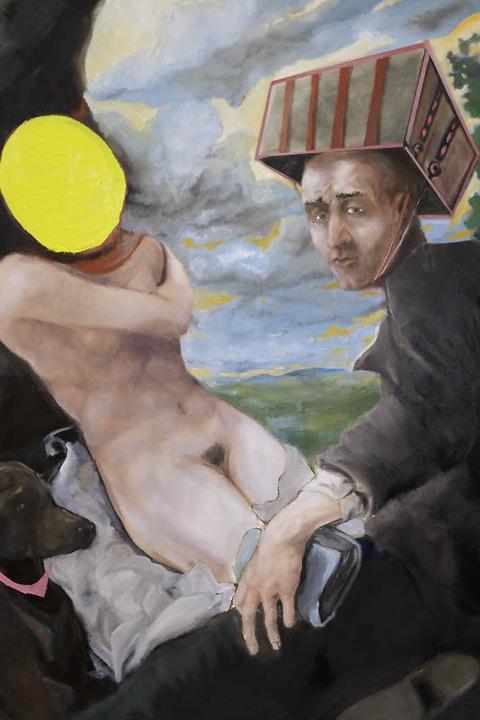 Arbeiten von Nathan Egel in der Freiburger Galerie Artraum - Badische Zeitung TICKET