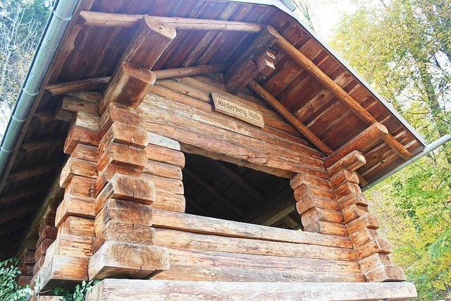 Niederberghütte (am Waldweg nach Schopfheim)