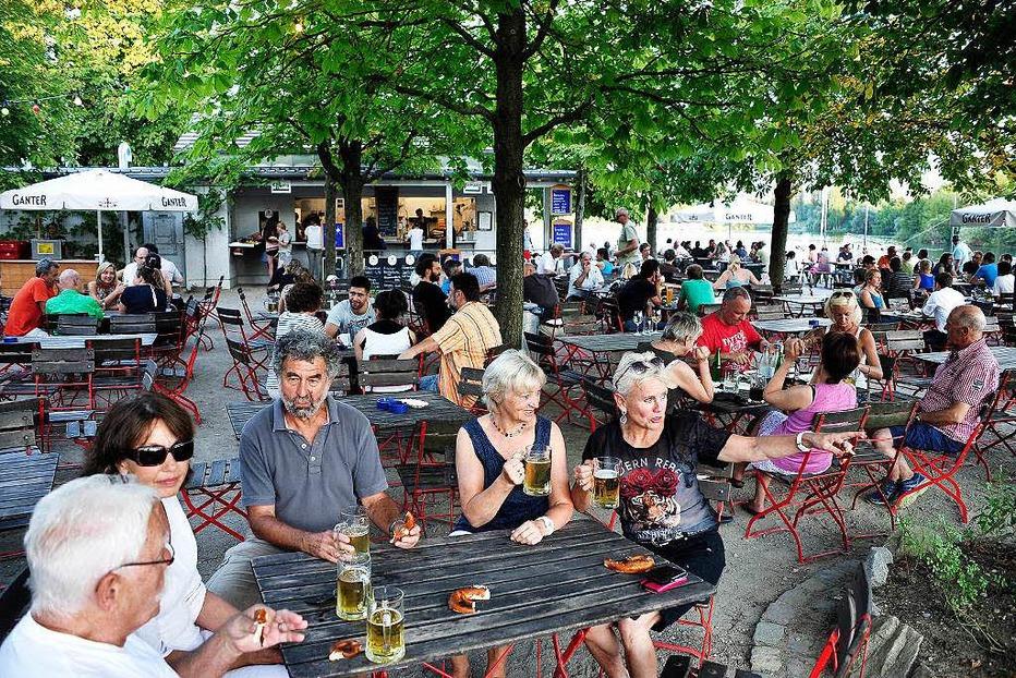 Biergarten am Seepark - Freiburg